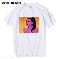 Cutee Monster T Shirt Men Pink Katy Perry T Shirt Fruit Sister Printed Sexy Beautiful Girl