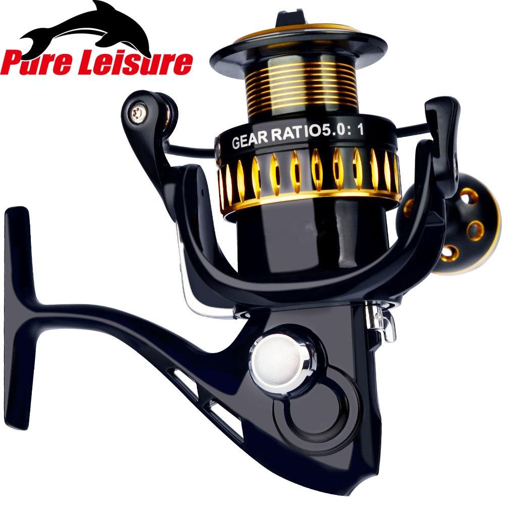 PureLeisure PN3000 Series 11+1 BB 5.0:1 Aluminum Fishing Spinning Reel Fish Tool Fishing Reel Handle Fishing Carrete Spinning