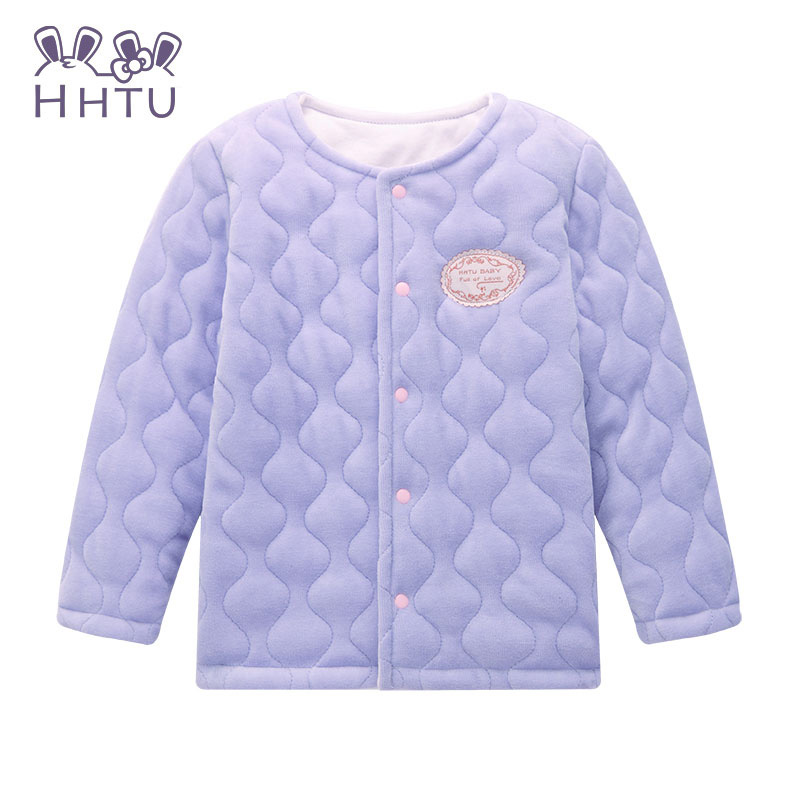 discount up to 60% variety of designs and colors luxury US $12.68 40% OFF|HHTU Spring Winter 2017 Children's Warm Clothing Female  Baby Girls Long sleeved Cardigan Jacket Coat Pink Kids Clothes Coat-in ...