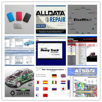 alldata and mitchell software alldata 10.53+ moto heavy truck+vivid workshop+elsawin full set 49in1 hdd 1tb 2018 four colors