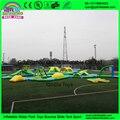 Gigante brinquedo inflável da água/parque aquático inflável flutuante/corrediça inflável da água e combinação de trampolim