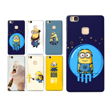 Cute Minions case for Huawei Mate 10 lite Case P Smart Cases for Funda Huawei P20 Lite Cover Mate 9 10 P9 P10 lite Honor 8 9 6X цена и фото