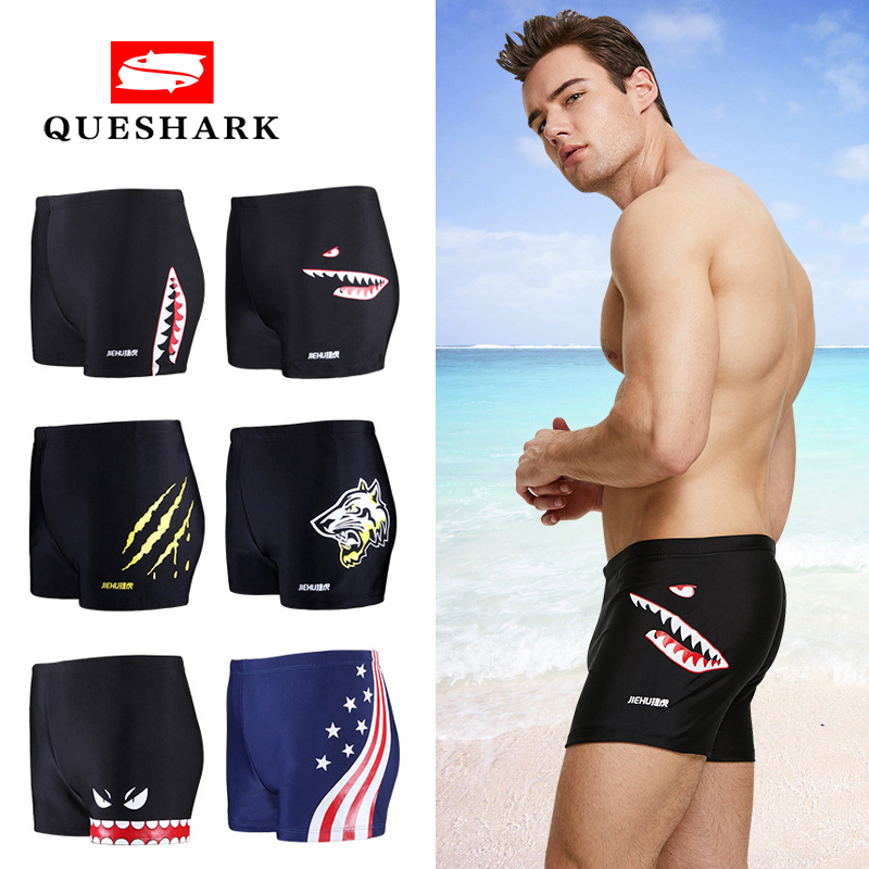 Sexy Swimsuit Shorts Men Briefs Surf-Board Mens New