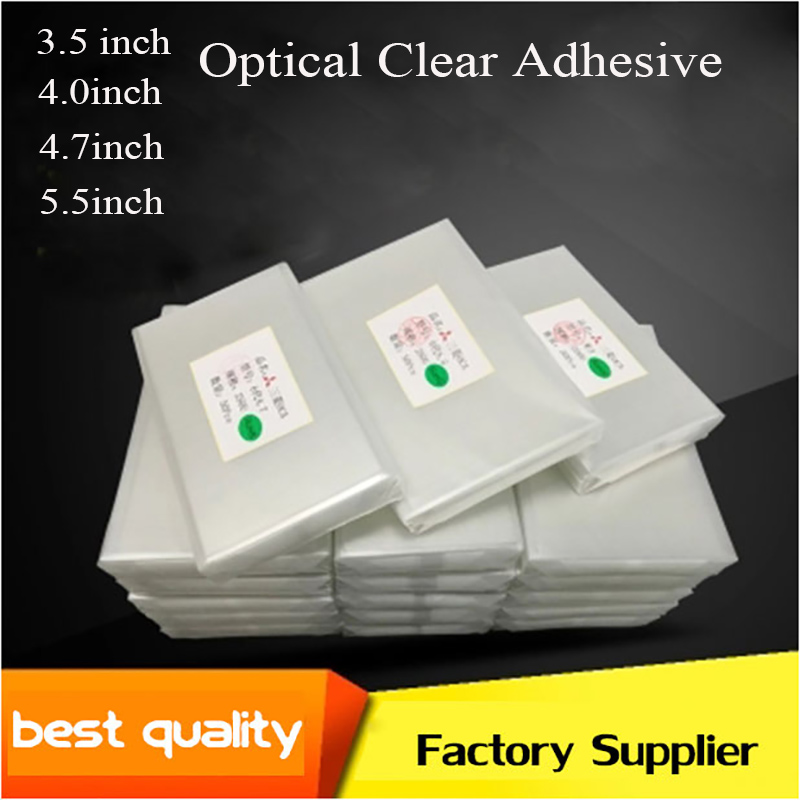 10PCS 250um OCA Optical Clear Adhesive Glue For iPhone 7 7 Plus 6 6S Plus 5C 5S 5 4 4S Touch Glass Lens Film