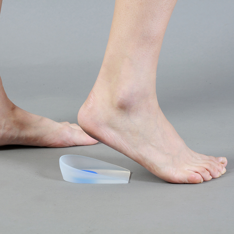 Silicone Gel Heel Support Cushion pads Used for plantar Fasciitis Calcaneal Spur Calcaneal Pains Relieve Ankle <font><b>Knee</b></font> Spine Pains