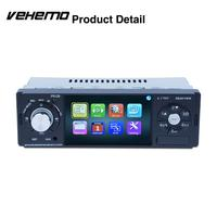 Vehemo Bluetooth Support Rear View 4.1 Smart Multimedia Player FM Radio Support SD Card Video Player MP3 Car MP5 1Din