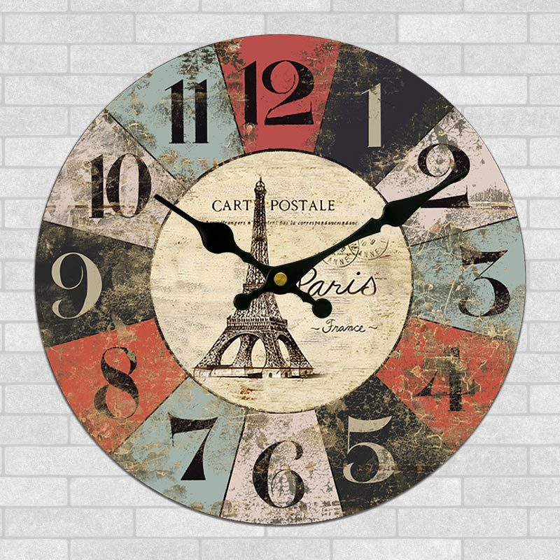 Grand Décoratif Horloges Murales Design Moderne Silencieux