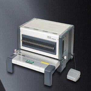 Image 2 - Elektrische punch und bindung maschine alle in einem, kamm bindung maschine und draht bindung maschine combo, heavy duty