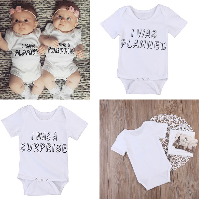 b9a11992a Newborn Infant Twins Baby Boy Girl Clothes Lovely Toddler Twins ...