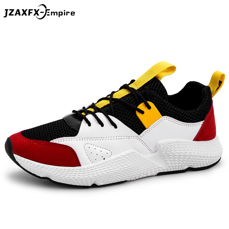 Men Lightweight Breathable Flats Mesh Shoes Men Summer Casual Shoes tenis masculino Spring Autumn Male Designer Shoes Sneaker ...