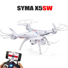 Best Toys SYMA X5SW 2.4G 4CH RC Drone With Camera FPV WIFI Real Time Video CMA 2.4G 6-Axis RC Quadcopter Helicopters