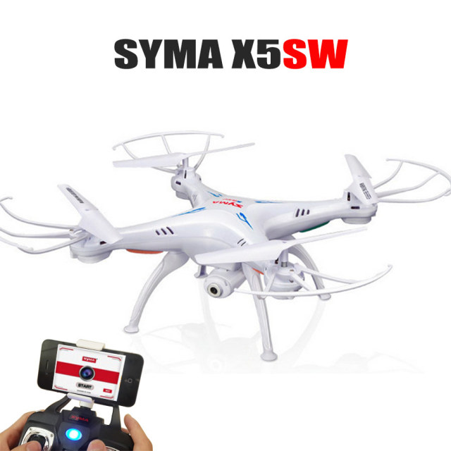 Best Toys SYMA X5SW 2.4G 4CH RC Drone With Camera FPV WIFI Real Time Video CMA 2.4G 6-Axis RC Quadcopter Airplane