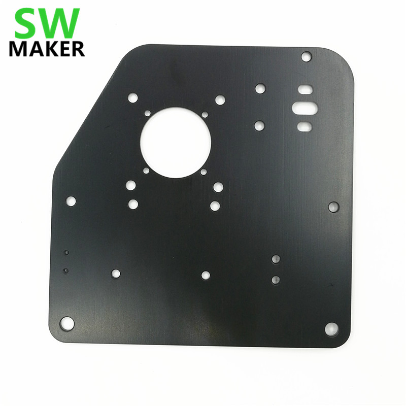 SWMAKER 2pcs/lot X-Carve Or Shapeoko 2 CNC Router Machine Parts Accessory For Gantry Side Plate NEMA 17 /NEMA 23 Motors