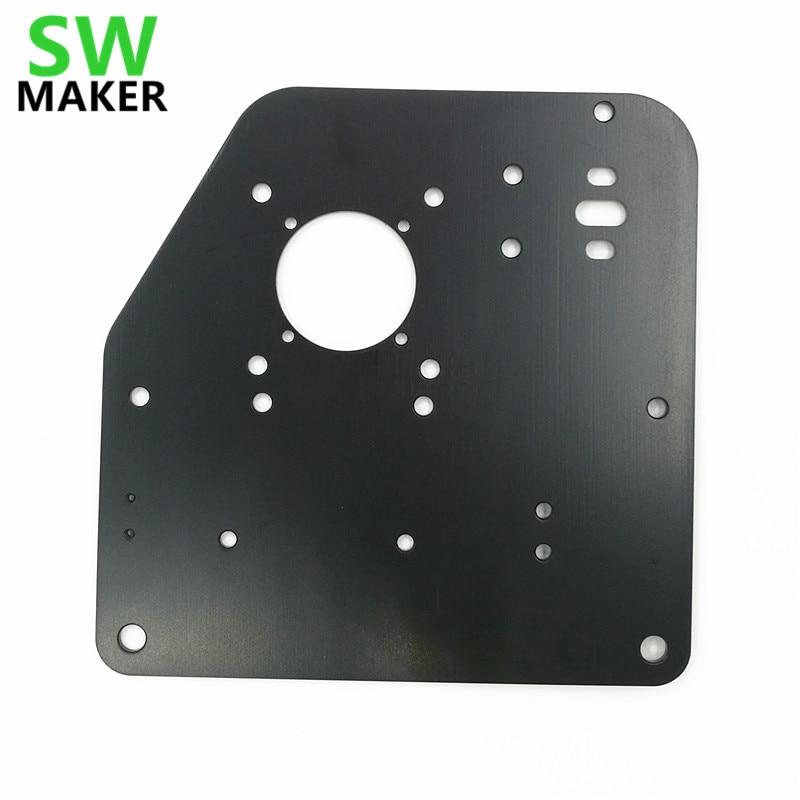 SWMAKER 2pcs/lot X-Carve Or Shapeoko 2 CNC Router Machine Parts Accessory For Gantry Side Plate NEMA 17 /NEMA 23 Motors