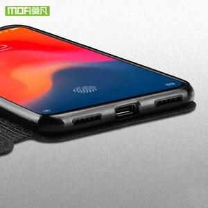 Image 4 - Чехол Mofi для Xiaomi Mi 9se, кожаный чехол для Xiaomi Mi 9 SE, силиконовый чехол для Xiaomi Mi 9 SE, чехол из ТПУ, чехол для Xiaomi Mi 9SE