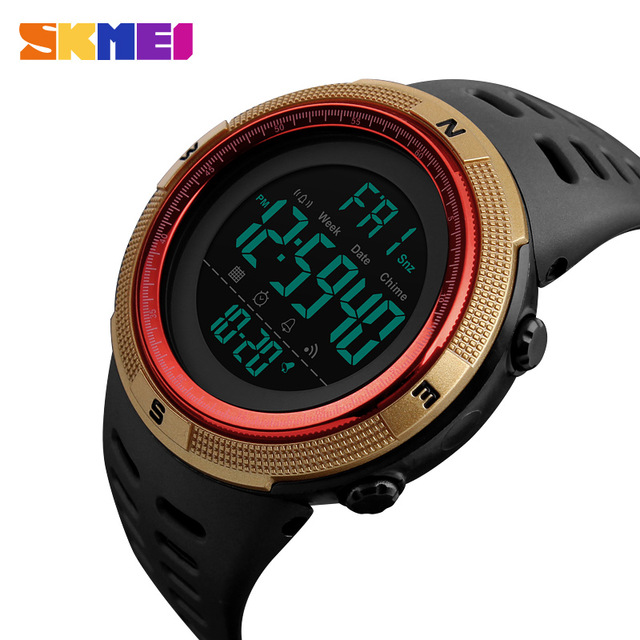 SKMEI Men Sport Watch Digital Watch Alarm Clock 5Bar Waterproof Watches Relogio Masculino Relogio 1251 Russian DeliverSKMEI Men Sport Watch Digital Watch Alarm Clock 5Bar Waterproof Watches Relogio Masculino Relogio 1251 Russian Deliver