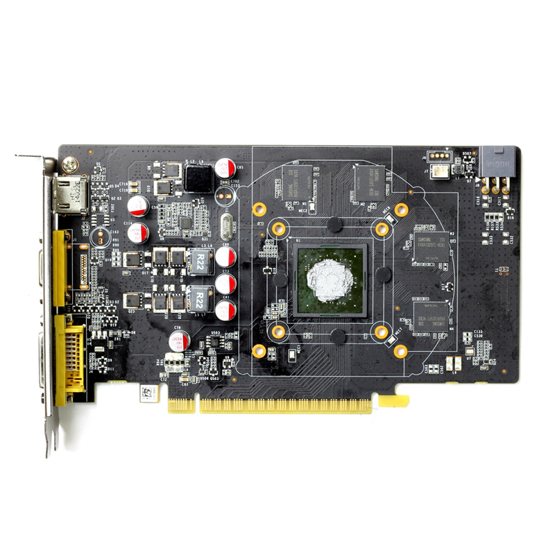 Carte graphique ZOTAC GTX 750Ti-2GD5 GDDR5 pour cartes graphiques nVIDIA d'origine GeForce GTX750 Ti 2 GB Thunder edition TSI PA PB Hdmi - 3