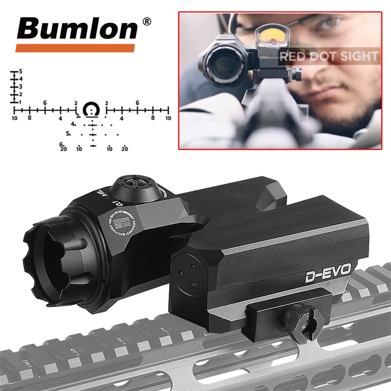 D EVO Rifle Scope 6x20mm CMR W Reticle Matt for Tactical Hunting Airsoft RL6 0068