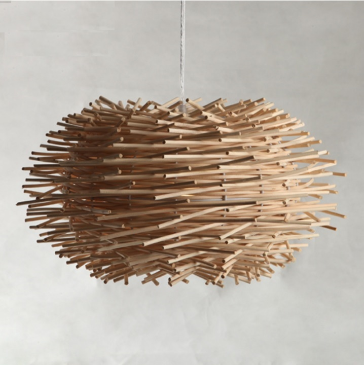 Modern Wooden Rattan Bird Nest Pendant Light,Add a touch of natural elements to your kitchen, dining or living area marsel salimov the bird s milk a humorous story with a light touch of satire