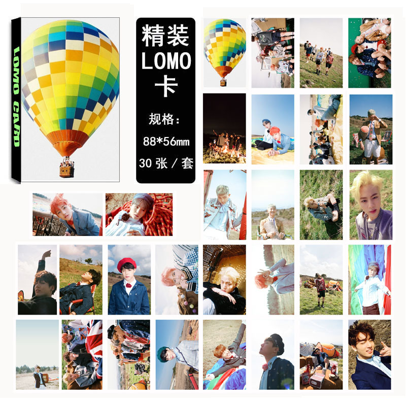 Wholesale KPOP Fan Bangtan Boys 2016 New Young forever Album Small Lomo Cards Photos Photocard image