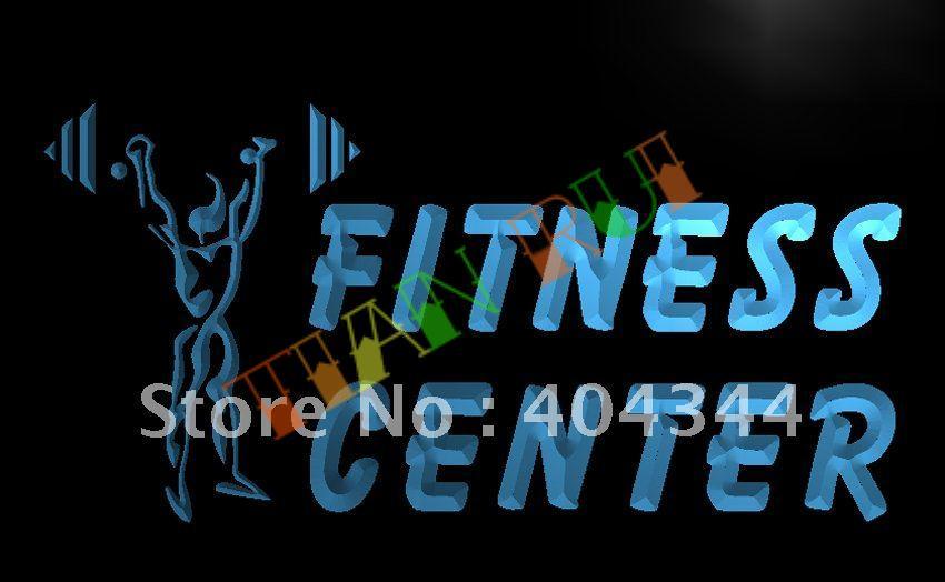 Fitness Center Gym Open LED Neon Light Sign