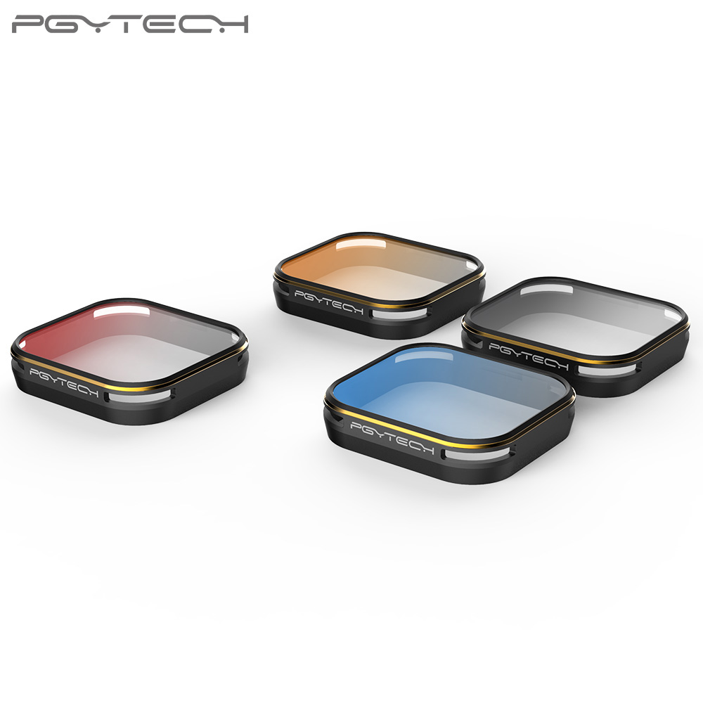 PGYTECH Gopro 5 Gold edge lens filter gradual color Gray/Orange/Blue/Red And 4pcs set filters Red Bule Orange Gray graduatedPGYTECH Gopro 5 Gold edge lens filter gradual color Gray/Orange/Blue/Red And 4pcs set filters Red Bule Orange Gray graduated