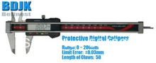 Promo offer 0~200mm Protective Digital Vernier Calipers / Measuring Instrument with 0.03mm Limit Error