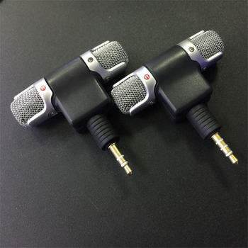 Accessories Mini 3.5mm Jack Stereo Smartphone Microphone Mic 3.5MM