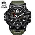 Esporte Relógios para Homens Grande Relógio Dos Homens do Exército Militar Relógios LED Digital Quartz Homens Relógio Dupla Afixação Relógio Eletrônica WS1545