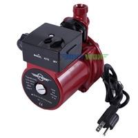 NPT 3/4'' Domestic Automatic Booster Pump 110 120V Domestic Hot Water Circulation Pump
