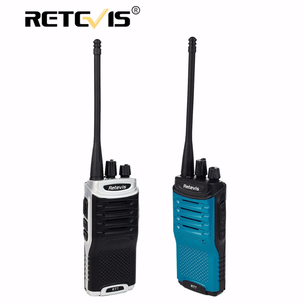 bilder für Retevis RT7 Walkie Talkie 5 Watt 16CH UHF 400-470 MHz FM Radio Station Handliche Hf Transceiver Talkie Walky Talky Professionelle
