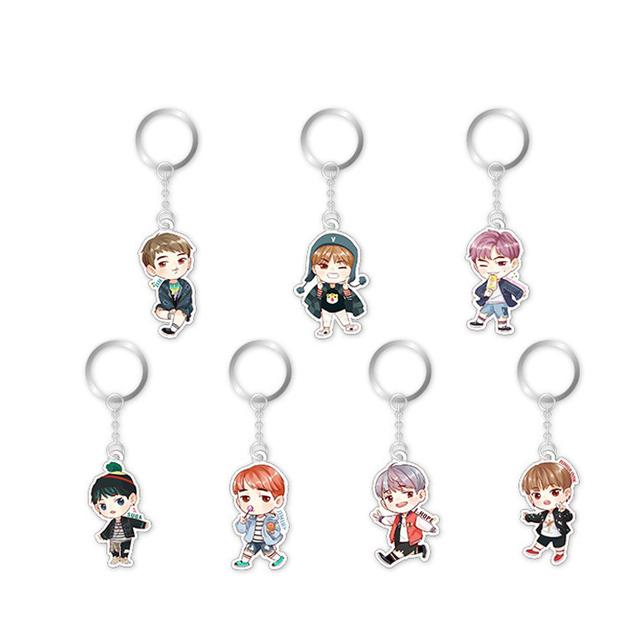 BTS Acrylic Keychain (7 types)