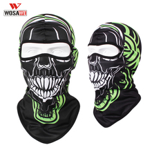 WOSAWE Motorcycle Masks Balaclava Face Shield Mask Skull Full Scarf Masque Moto Breathable Balacrava Ciclismo Cycling
