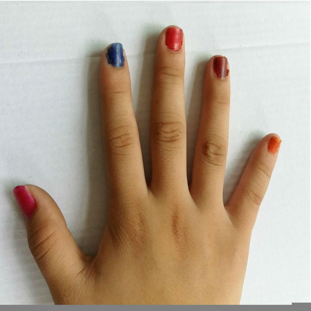 7 հատ եղունգների հերա Multi Color Nail Polish - Մանիկյուր - Լուսանկար 3