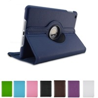 New 360 Rotating PU Leather Litchi Case Cover For Apple IPad Pro 12 9 Inch Smart