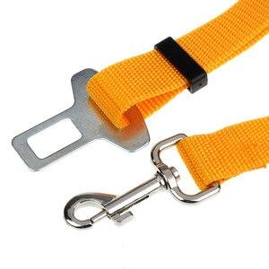 Image 5 - 1 piezas del cinturón de seguridad del coche accesorios de coche cinturón de plomo Clip gato mascota perro cinturón de seguridad del hombro candado