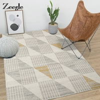 Zeegle Nordic Carpet For Living Room Non Slip Floor Mat Kids Bedroom Carpet Large Size Home Area Rugs Absorbent Kitchen Carpet
