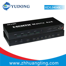 4X4 HDMI Matrix V1.4 HD True Matrix HDMI Switch 4Kx2K With RS232 Command and EDID IR Function 4 in 4 out for HDTV STB DVD