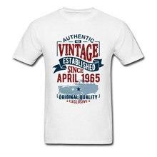 Vintage since april T-shirts Rottweiler New Design Round Neck Street Workout T Shirt Clothing for Men Summer/Autumn