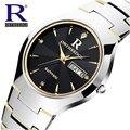 RON originais Relógio de Forma Das Mulheres Marca de Luxo Homens Relógios de Tungstênio de Aço À Prova D' Água relógios de Pulso de Quartzo relogio feminino
