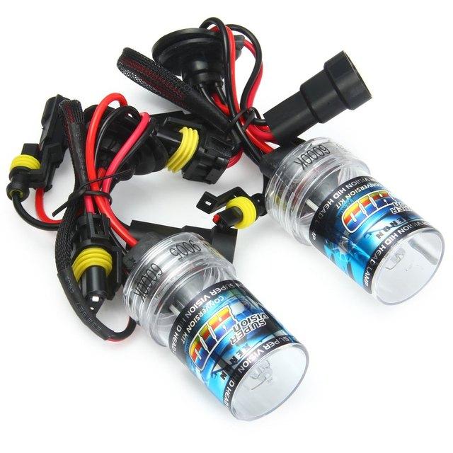 High quality 9005 Car Headlight Bright White Light with HID Xenon Auto Headlamp 2pcs 35W 6000K 3600lm Car Headlamp for Vehicle