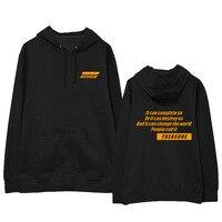 ATEEZ Kpop Hoodie Print Hooded Women Men Sweatshirts Clothes 2019 Harajuku Casual ATEEZ Hoodies Kpop Sweatshirt Kpop Clothing