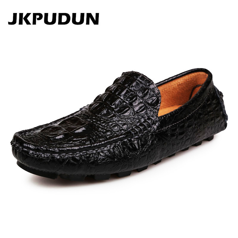 Crocodile Shoes Mens Fashion