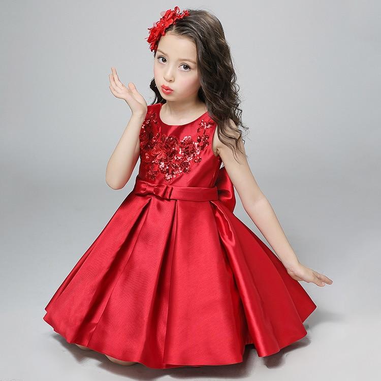 2017 Weihnachtsfeier Mädchen Kleid Kinder Kleidung Prinzessin ...