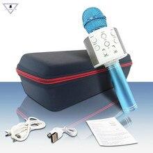 Handheld Wireless Karaoke Microphone Bluetooth with Hifi Speaker Portable Karaoke Machine for iPhone iPad Samsung Galaxy Android стоимость