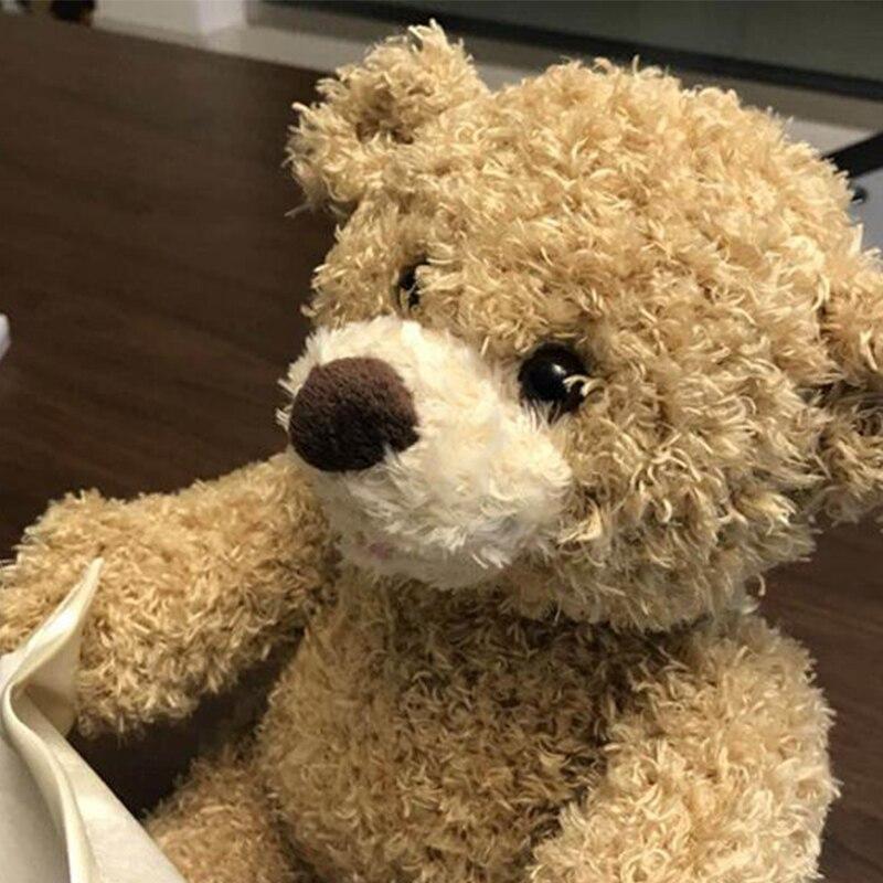 Kwaii Cute Peek a Boo Teddy Bear Play Hide And Seek Lovely Cartoon Stuffed Bear Birthday Gift Music Beartoys for children
