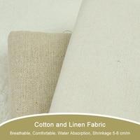 50 150cm Linen Cotton Fabric Meter Patchwork Tissus Sofa Quilting Sewing Kids Bedding Textile Tilda Doll
