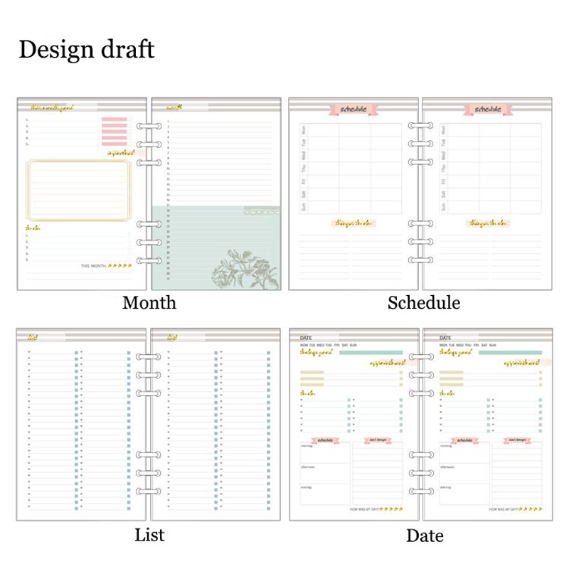 schedule pages