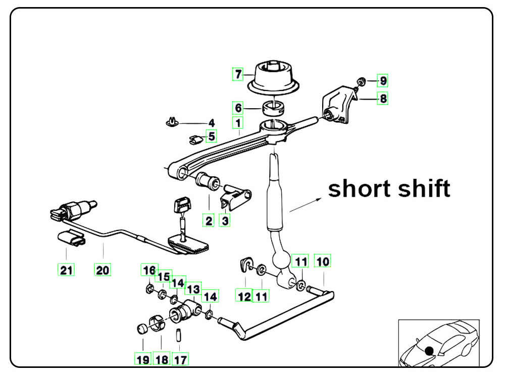 Detail Feedback Questions About Short Shifter Quick Gear Kit Quicker
