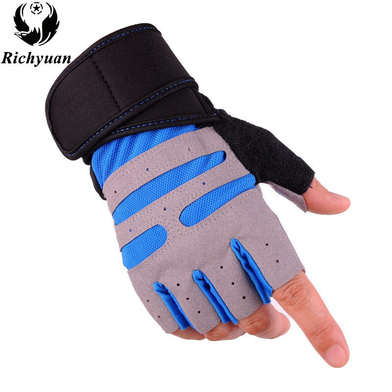Personalized Fitness Gloves: Gym Gloves With Wrist Support Men Women Body Building